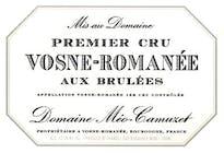 Domaine Meo-Camuzet Vosne-Romanée Aux Brulees 2016