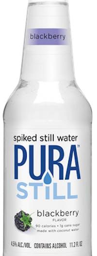 Pura Still Blackberry Spiked Still Water