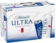 Michelob Ultra 24 pack 12oz Can