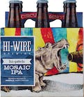 Hi-Wire Brewing Hi-Pitch Mosiac IPA 6 pack 12oz