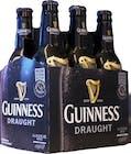 Guinness Draught 6 pack 355ml Bottle