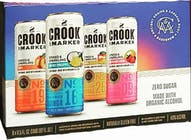 Crook & Marker Spiked and Sparkling Blue Variety Pack 8 pack 11.5oz Can