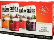 Crook & Marker Spiked and Sparkling Red Variety Pack 8 pack 11.5oz Can