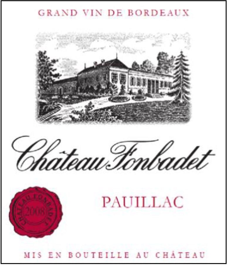 Chateau Fonbadet Pauillac 2016